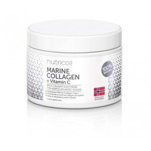 Морски колаген на прах с витамин С Nutricoll - 150 г